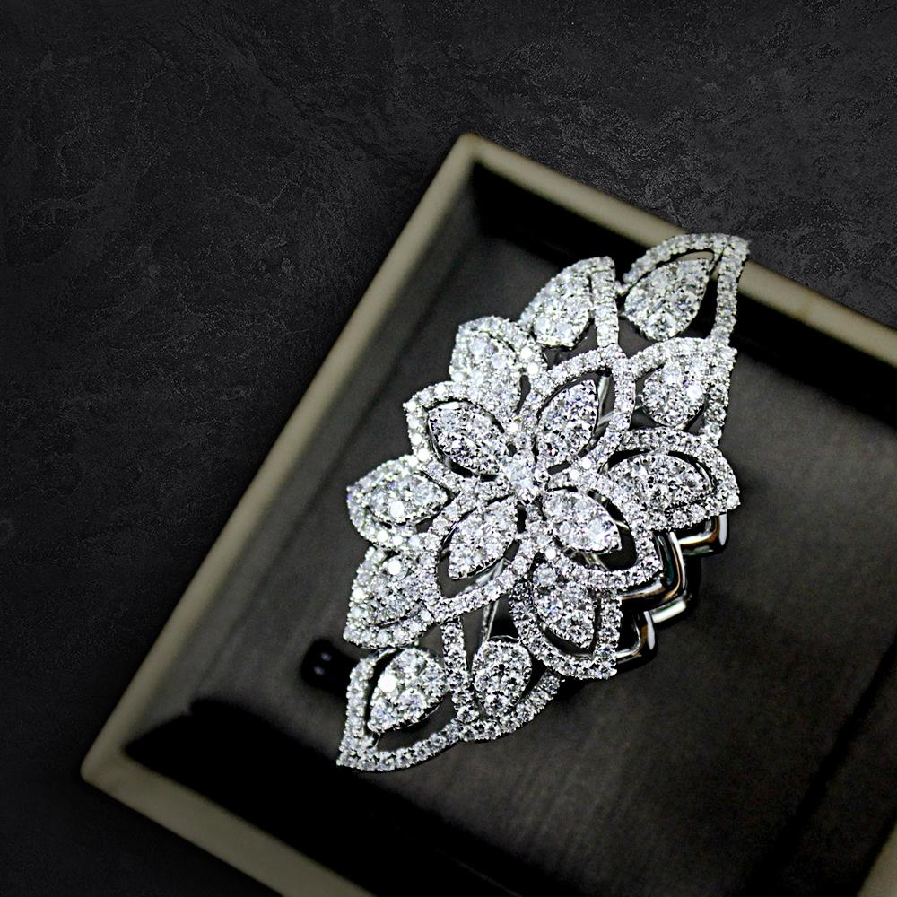 Intricate Diamond Ring